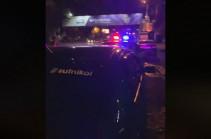 Полиция представила разъяснение в связи произошедшим вечером инцидентом на улице Гераци