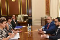 ԵՄ-ն շարունակելու է լայն աջակցության ցուցաբերել Հայաստանին՝ բարեփոխումների հավակնոտ օրակարգը կյանքի կոչելու համար. Կատարինա Մատերնովան՝ Ավինյանին