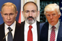 Presidents Putin, Trump congratulate Armenia's PM on Independence Day