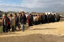 Մեկ օրում Սիրիա է վերադարձել ավելի քան 1400 փախստական
