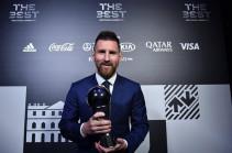 Մեսսին շնորհակալություն է հայտնել տարվա լավագույն ֆուտբոլիստի մրցանակին արժանանալու համար