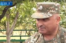 Андраник Макарян: Мы в любых условиях обязаны выполнять нашу боевую задачу, активность противника – обычное явление