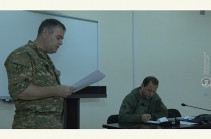 Դավիթ Տոնոյանն աշխատանքային խորհրդակցություն է անցկացրել ռազմավարական զորավարժության ղեկավար կազմի հետ