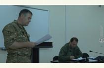 Давид Тоноян провел рабочее совещание с руководящим составом стратегических учений