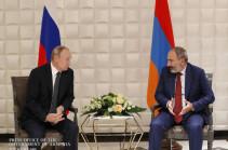 Վլադիմիր Պուտինը Նիկոլ Փաշինյանին պաշտոնական այցով հրավիրել է Ռուսաստան