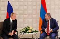 ՌԴ նախագահի հետ մեր ունեցած մանրամասն զրույցը, կարծում եմ, նոր խթան կտա հայ-ռուսական հարաբերություններին. Փաշինյան