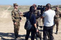 Հակառակորդի դիվերսիոն գործողությունը կանխած զինծառայողներն այսօր հանդիպել են Բակո Սահակյանի հետ