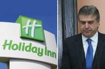 «Holiday Inn» հյուրանոցը չի պատկանում ՀՀ նախկին վարչապետ Կարեն Կարապետյանին