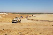 Турция и США проводят третье наземное патрулирование планируемой зоны безопасности в Сирии