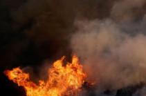 Երեկ Հայաստանում գրանցվել է խոտածածկ տարածքներում բռնկված 7 հրդեհ