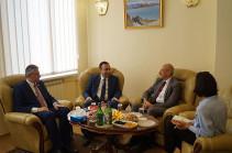 ՍԴ նախագահ Հրայր Թովմասյանն ընդունել է Հայաստանում Գերմանիայի նորանշանակ դեսպանին