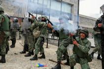 Բողոքի ցույցերի ընթացքում Էկվադորում վիրավորվել է մոտ 450 մարդ