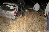 One killed, one seriously injured in road accident on Martuni-Vardenis highway