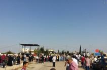 Около 100 тысяч человек покинули свои дома из-за операции Турции в Сирии