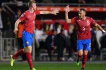 Чехия обыграла Англию в отборе Евро-2020