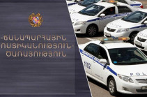 Head of Yerevan road police Arman Hakobyan fired