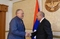 Բակո Սահակյանն ընդունել է ՌԴ Պետդումայի պատգամավոր Կոնստանտին Զատուլինին