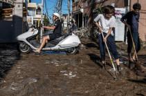 Число жертв тайфуна в Японии выросло до 39 человек