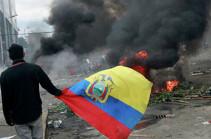 Число погибших в результате протестов в Эквадоре возросло до семи человек
