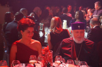 Armenia's PM's spouse, Armenia's Cathoicos attend gala evening in Geneva dedicated to Armenia