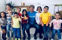 Արթուր Ալեքսանյանը՝ Unicef-ի բարի կամքի դեսպան