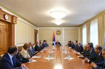 Bako Sahakyan convenes consultation with Foreign Ministry leadership staff