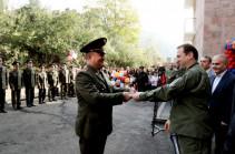 ՀՀ պաշտպանության նախարարը մասնակցել է նորակառույց շենքերի բացման արարողություններին