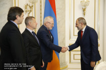 Armenia's PM, OSCE Minsk Group co-chairs discuss Karabakh conflict settlement issues