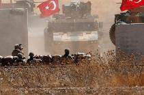 Թուրքիան հայտարարել է Սիրիայում գործողությունների ընթացքում 595 գրոհայինի չեզոքացնելու մասին