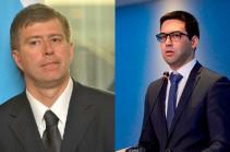 Հայաստանի և Ռուսաստանի արդարադատության նախարարները  քննարկել են երկուստեք հետաքրքրություն ներկայացնող հարցեր