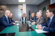 ԵԺԿ նախագահին տեղեկացրել ենք Հայաստանի ներքաղաքական զարցացումների մասին. Արմեն Աշոտյան