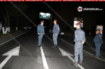 Police officer shot dead in Yerevan