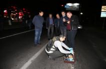 В Ереване убит полицейский, подозреваемые установлены
