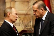 Russian president invites Turkey's Erdogan to Russia