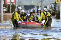 Ճաապոնիայում «Հագիբիս» թայֆունի հետևանքով զոհվածների թիվը հասել է 74-ի