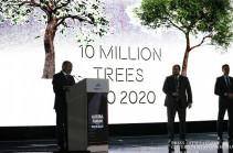 10 октября 2020 года в Армении будет посажено 10 миллионов деревьев – Никол Пашинян