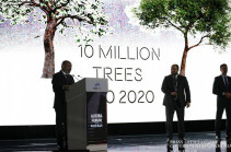 10 million trees to be planted in Armenia on October 10, 2020: Armenia's PM