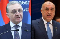 Armenian, Azerbaijani FMs may meet in Slovakia in December in case of their consent: Russian co-chair