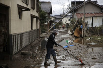 «Հագիբիս» թայֆունը Ճապոնիայում 77 մարդու կյանք է խլել