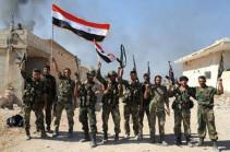 Сирийские войска вышли к границе с Турцией к северу от Кобани