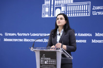 Azerbaijani FM confirms existence of policy of discrimination against Armenians in Azerbaijan: Armenia's MFA spokesperson