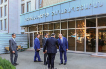 Գրիգորի Մարտիրոսյանը ներկայացրել է Ստեփանակերտի նորընտիր քաղաքապետին