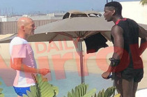Зидан и Погба встретились в Дубае