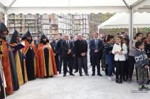 Բակո Սահակյանը մասնակցել է Դիլիջանի միջազգային դպրոցի հիմնադրման 5-ամյակին նվիրված տոնական միջոցառմանը