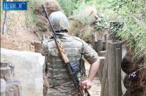 Азербайджан произвел за неделю в направлении армянских позиций около 1100 выстрелов