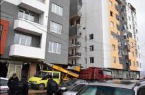 Взрыв произошел в жилом доме Тбилиси
