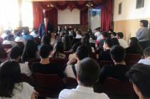Դատախազները հանդիպում-քննարկումներ են անցկացրել հանրակրթական և հատուկ ուսումնական հաստատությունների աշակերտների հետ