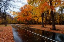 Օդի ջերմաստիճանը կնվազի. սպասվում է կարճատև անձրև և ամպրոպ