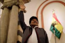 Моралес лидирует на выборах президента Боливии