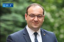 В Армении задержан бывший заместитель руководителя аппарата парламента